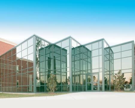 Benefits Of Curtain Wall Systems Vern S Glass Victorville
